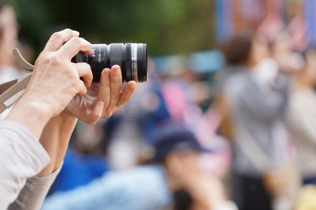運動会カメラ