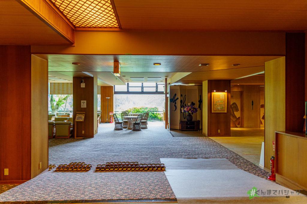 猿ヶ京ホテル玄関
