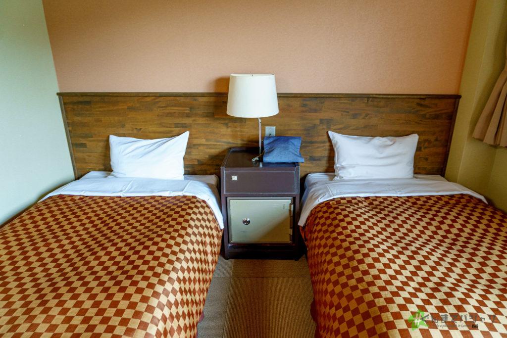 猿ヶ京ホテルのベッド
