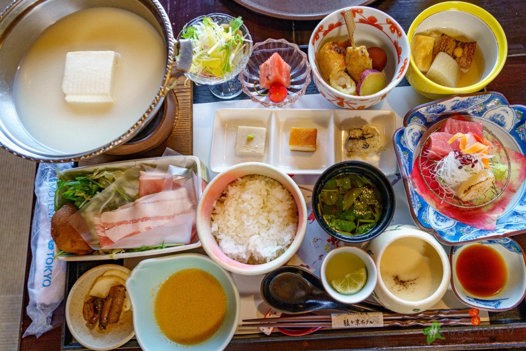 猿ヶ京ホテル夕食