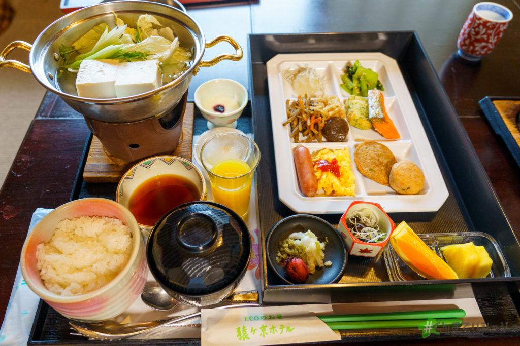 猿ヶ京ホテル朝食