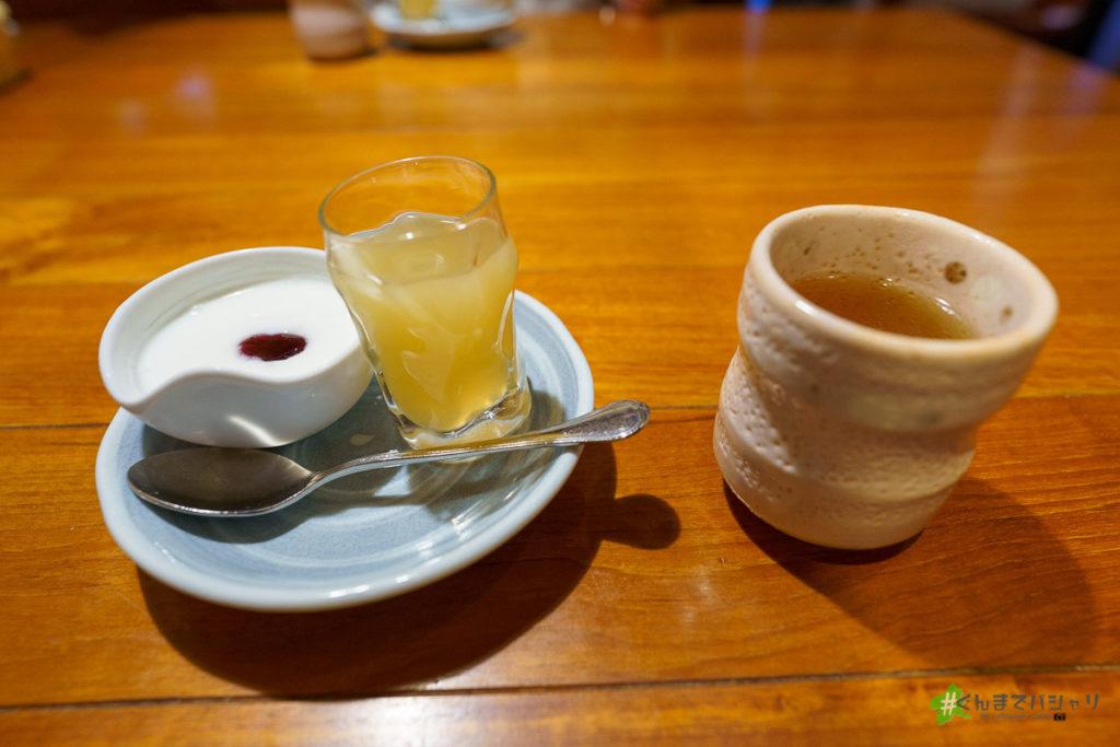 季の庭朝食