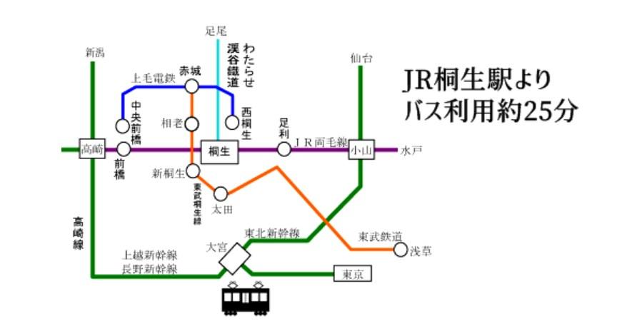 宝徳寺公共交通機関でのアクセス