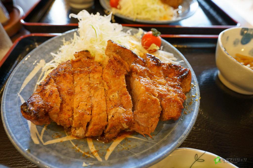 暖の生姜焼き定食