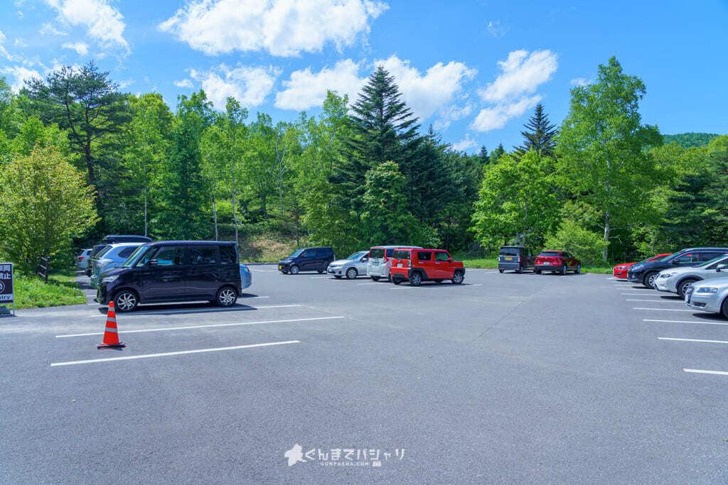 チャツボミゴケ公園 駐車場